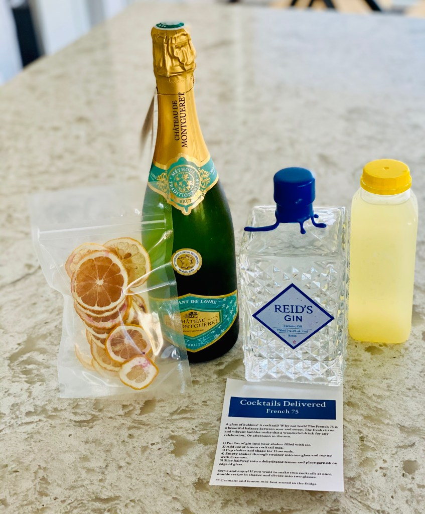Reid's Gin French 75 Cocktail Kit