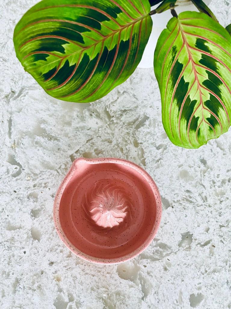 Handmade Pink Citrus Juicer