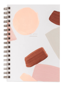 Moglea Daily Planner Journal Hand Painted