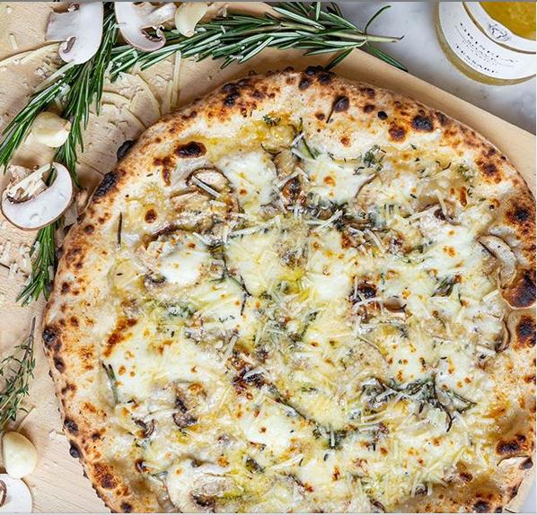 Pizzeria Libretto Toronto Mushroom Pizza