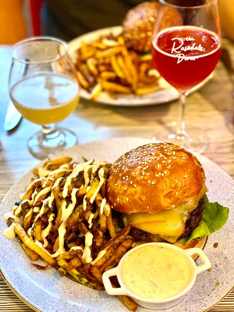 Rosedale Diner Burger Toronto