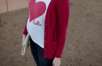 Valentine's Day Maternity Style Part Two: Casual