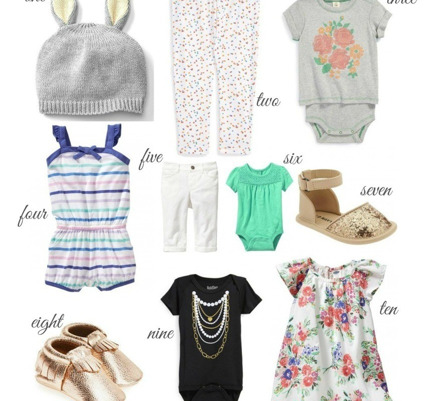 Currently Craving: Baby Girl Clothes