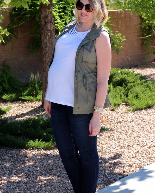 Maternity Style Staples + Jord Wood Watches
