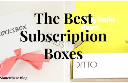 My Favorite Subscription Boxes + Your First Month Free!