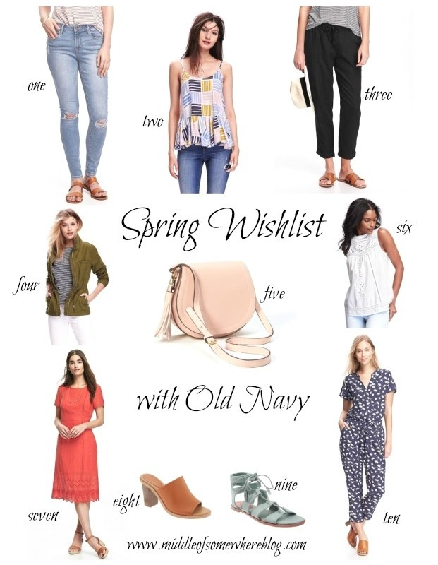 My Spring Wishlist with Old Navy