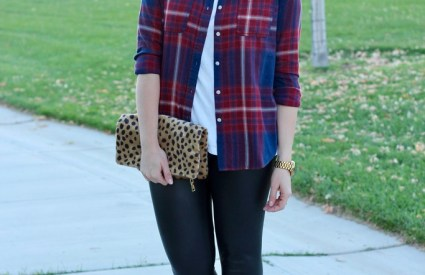 How To Style Plaid Two Ways – Part Two + The Weekly Style Edit Link Up