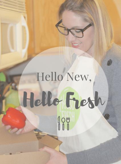 Hello New, Hello Fresh