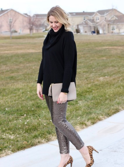 Sequin Pants & The Weekly Style Edit Link Up