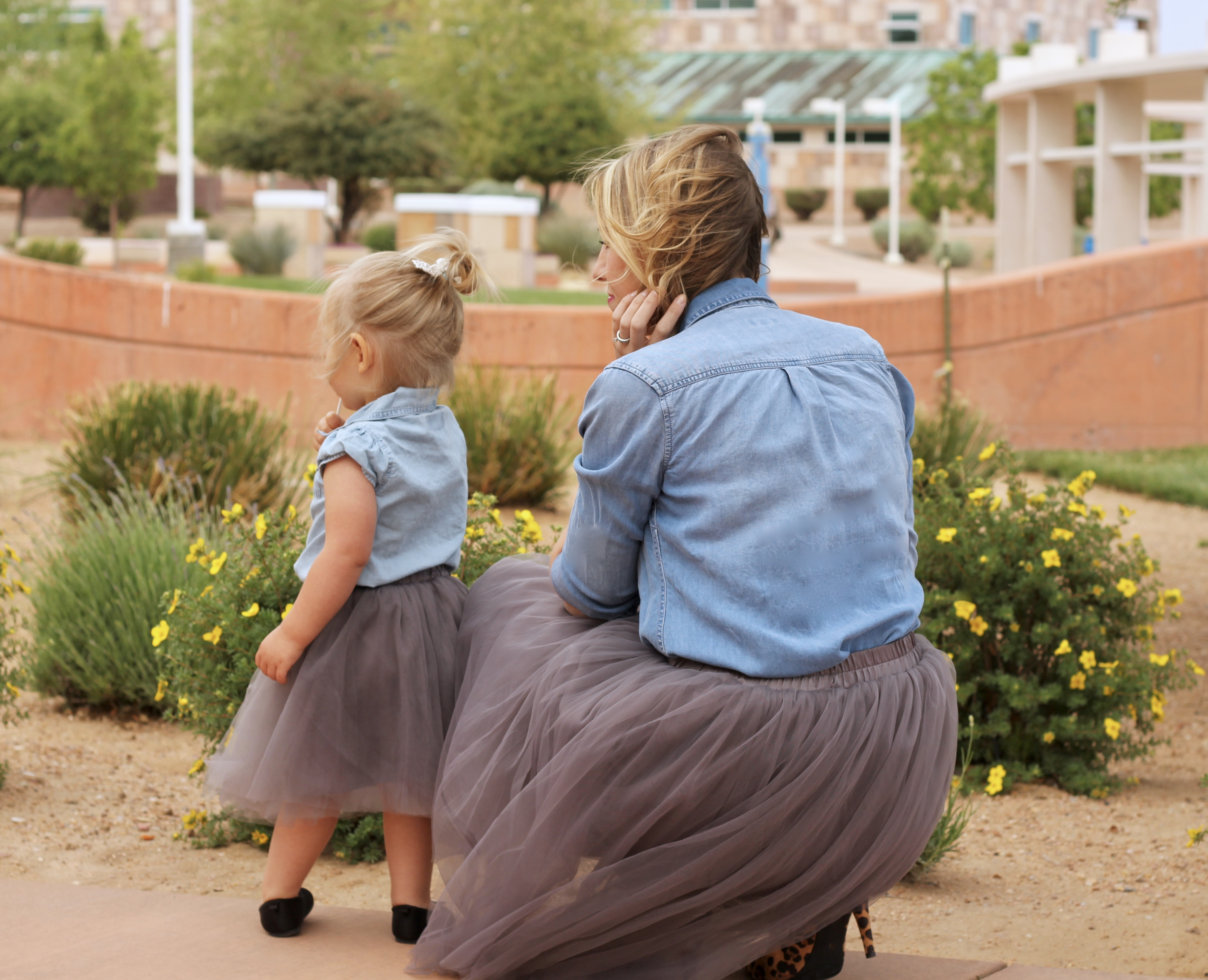 mommy me tulle skirts