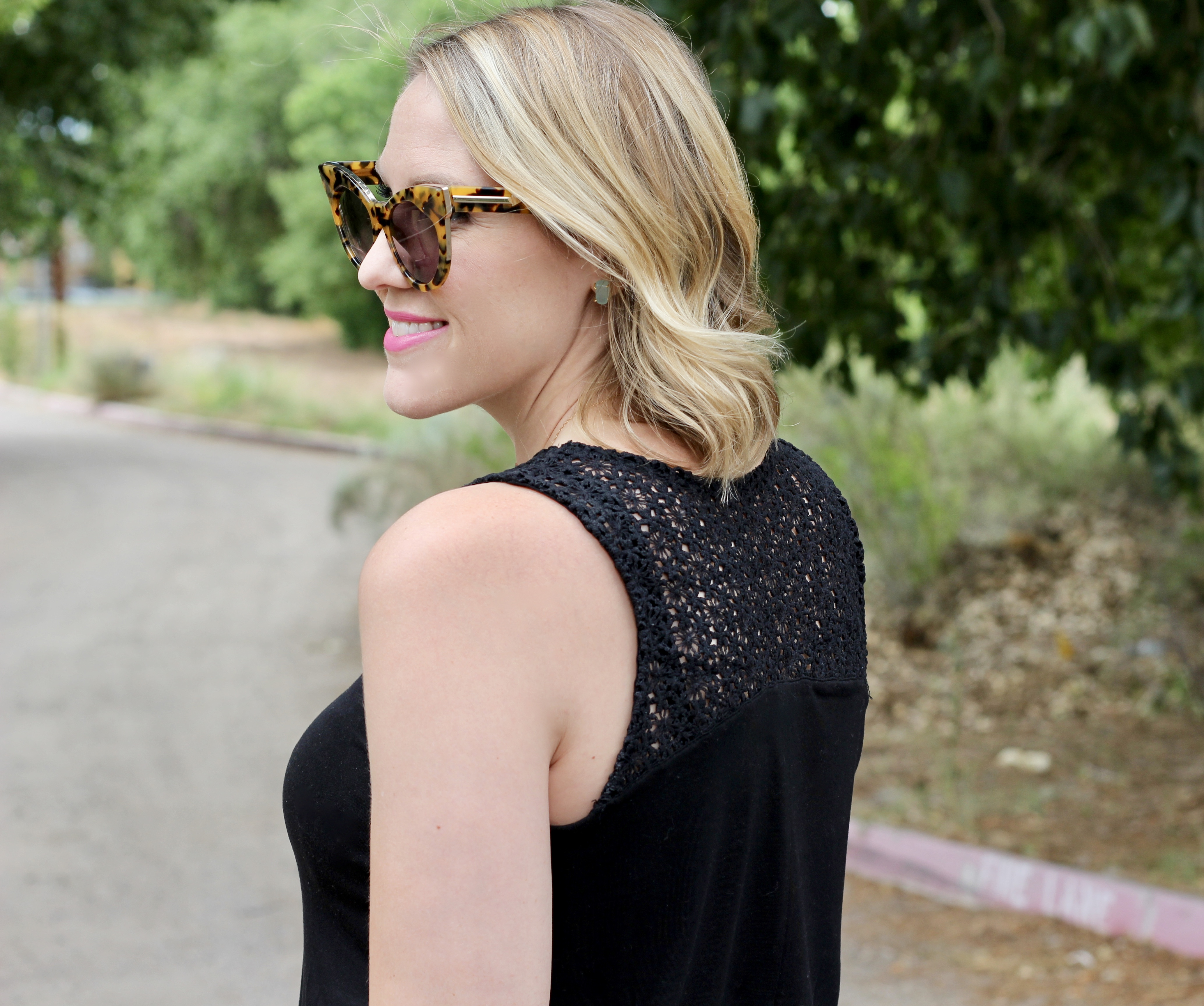 crochet back tank from old navy