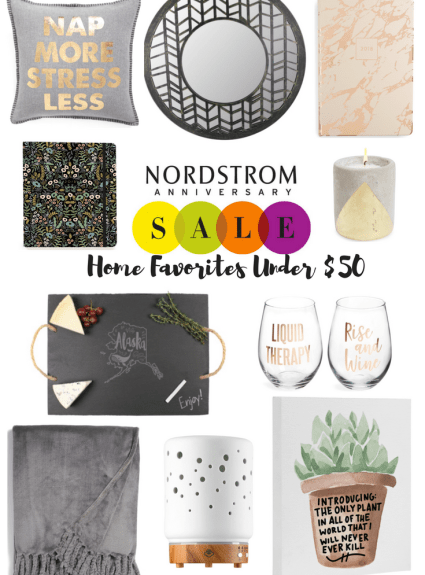 Nordstrom Anniversary Sale Home Favorites Under $50 + $700 Nordstrom Giveaway