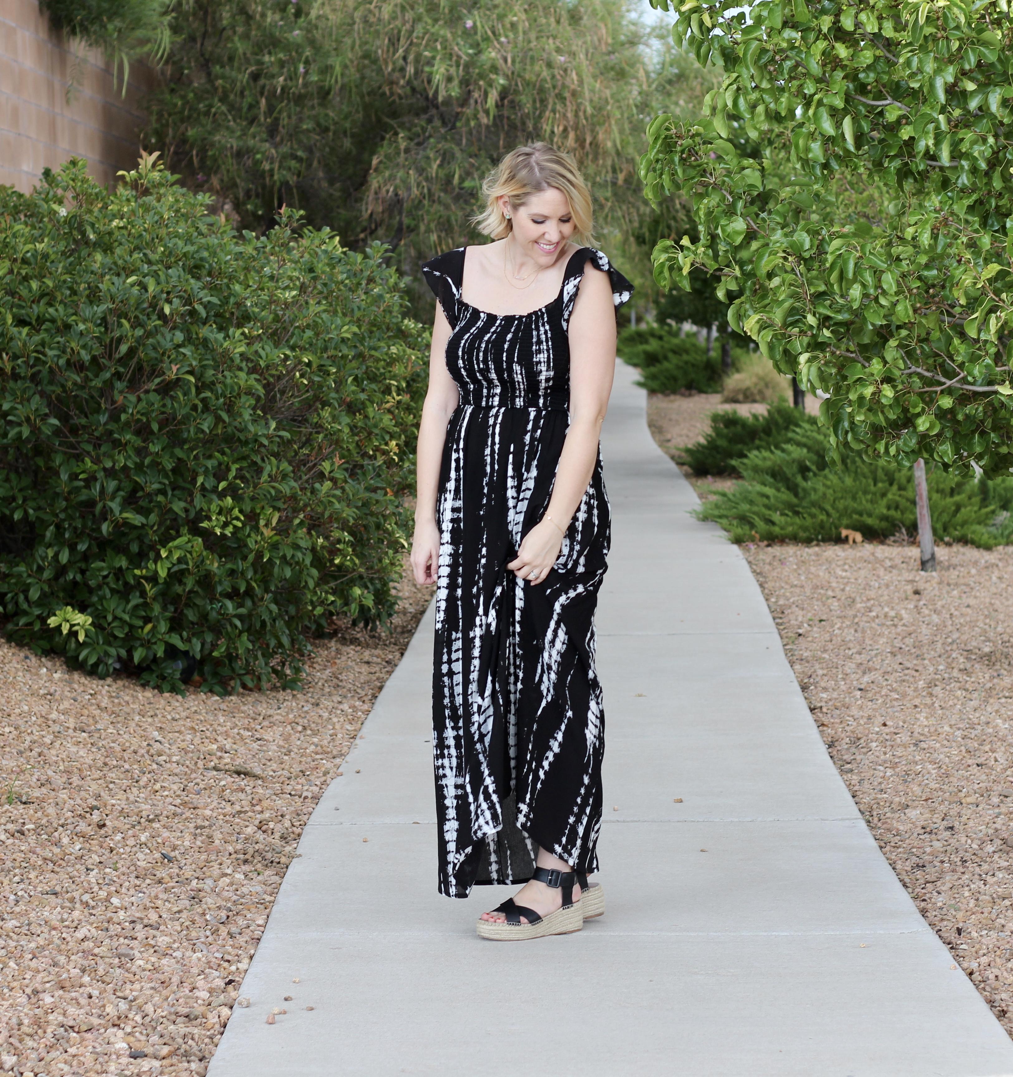 end of summer maxi dress