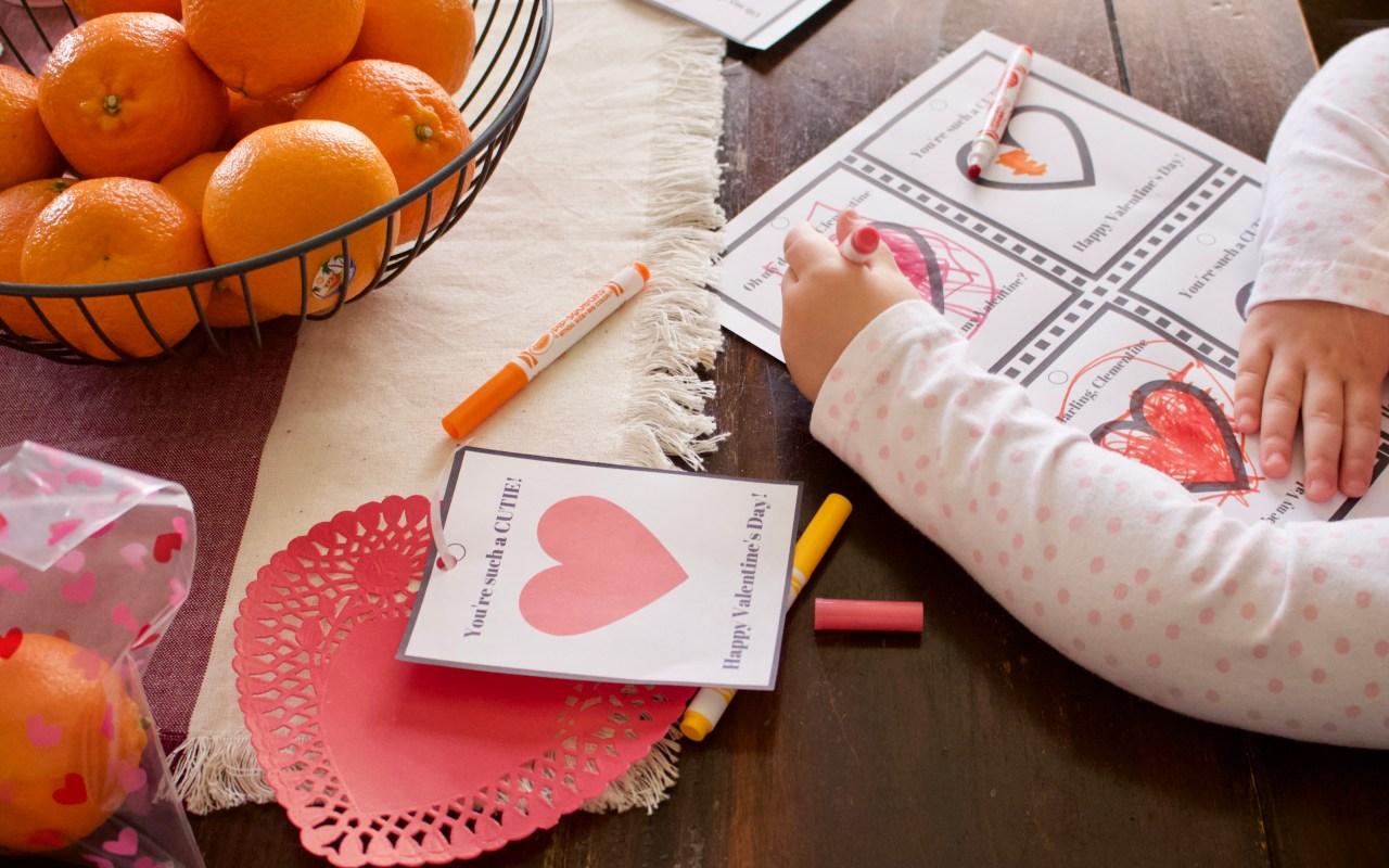 Easy & Healthy DIY Valentine + Free Printable