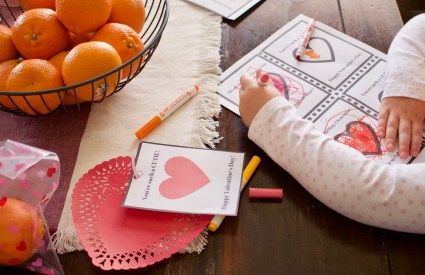 Easy & Healthy DIY Valentine + Free Printable