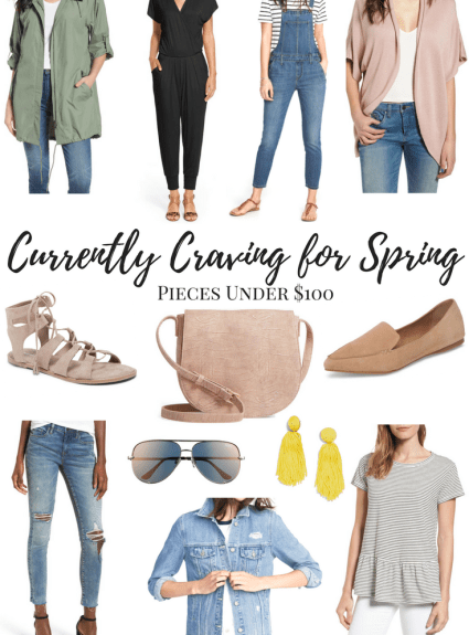 Currently Craving for Spring: Pieces Under $100