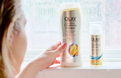 Get Glowing Skin for Spring with Olay Cleansing Infusions