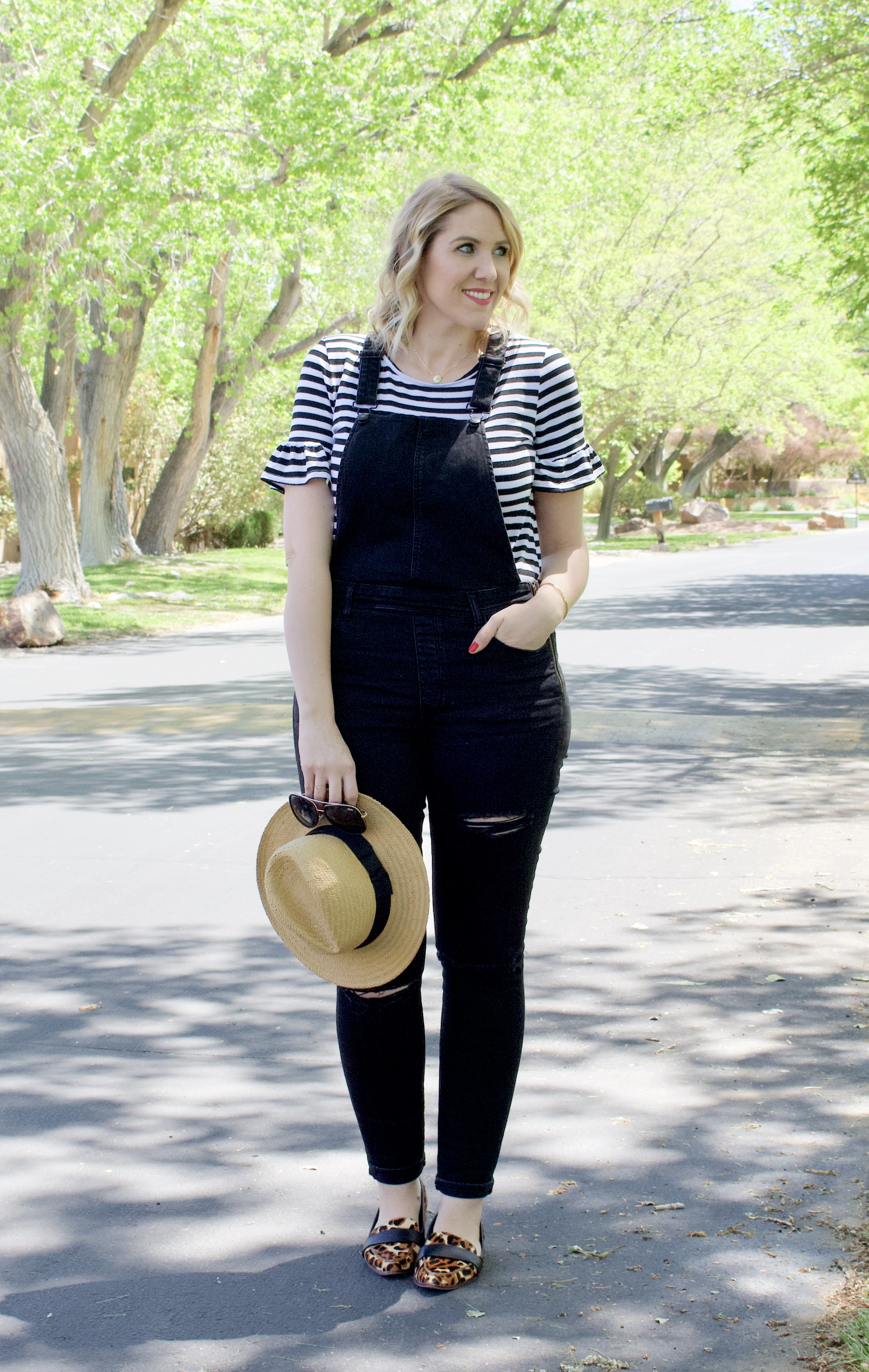 black distressed overalls for tall girls #tallfashion #overalls #springstyle #AE