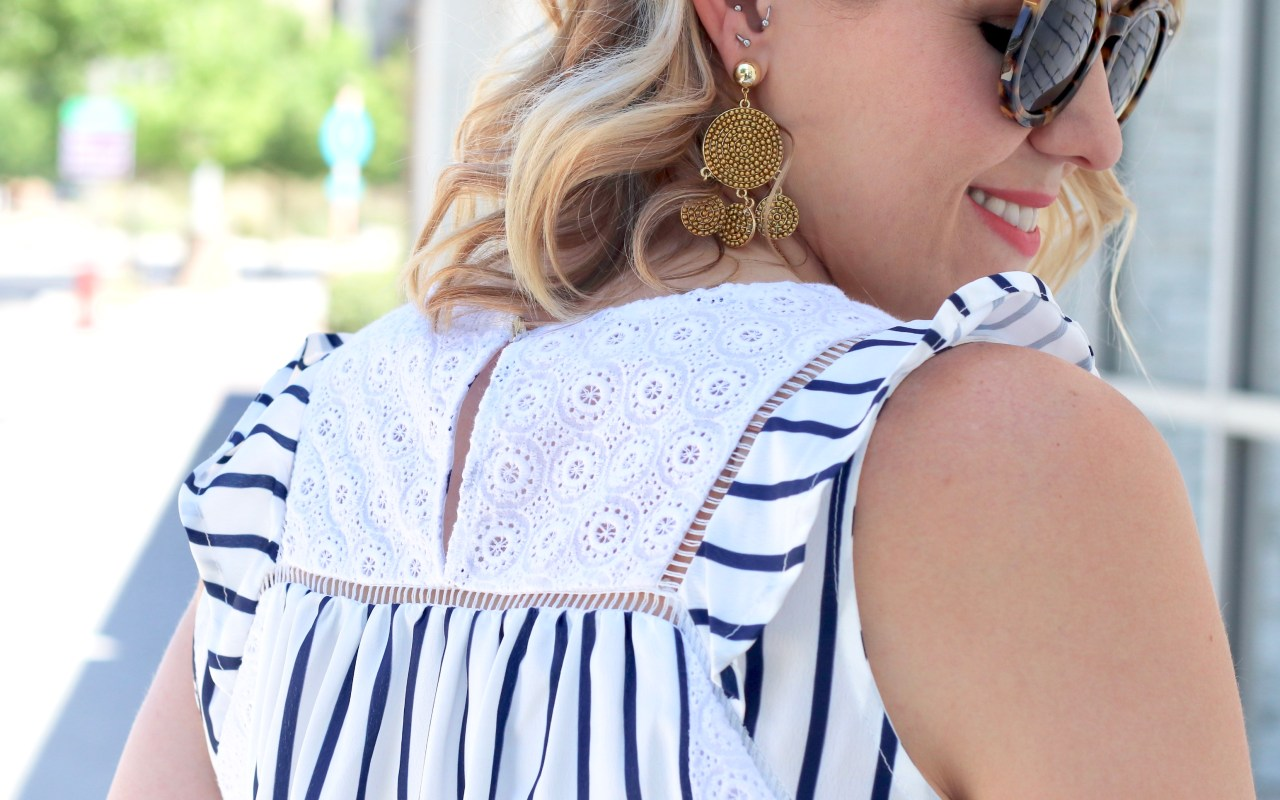 Eyelet Blouse: The Weekly Style Edit