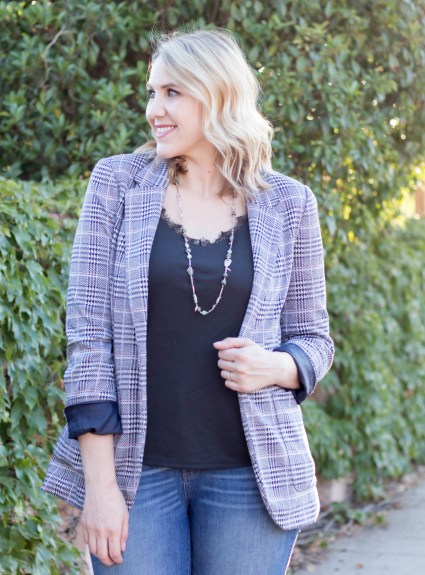 Plaid Blazer: The Weekly Style Edit