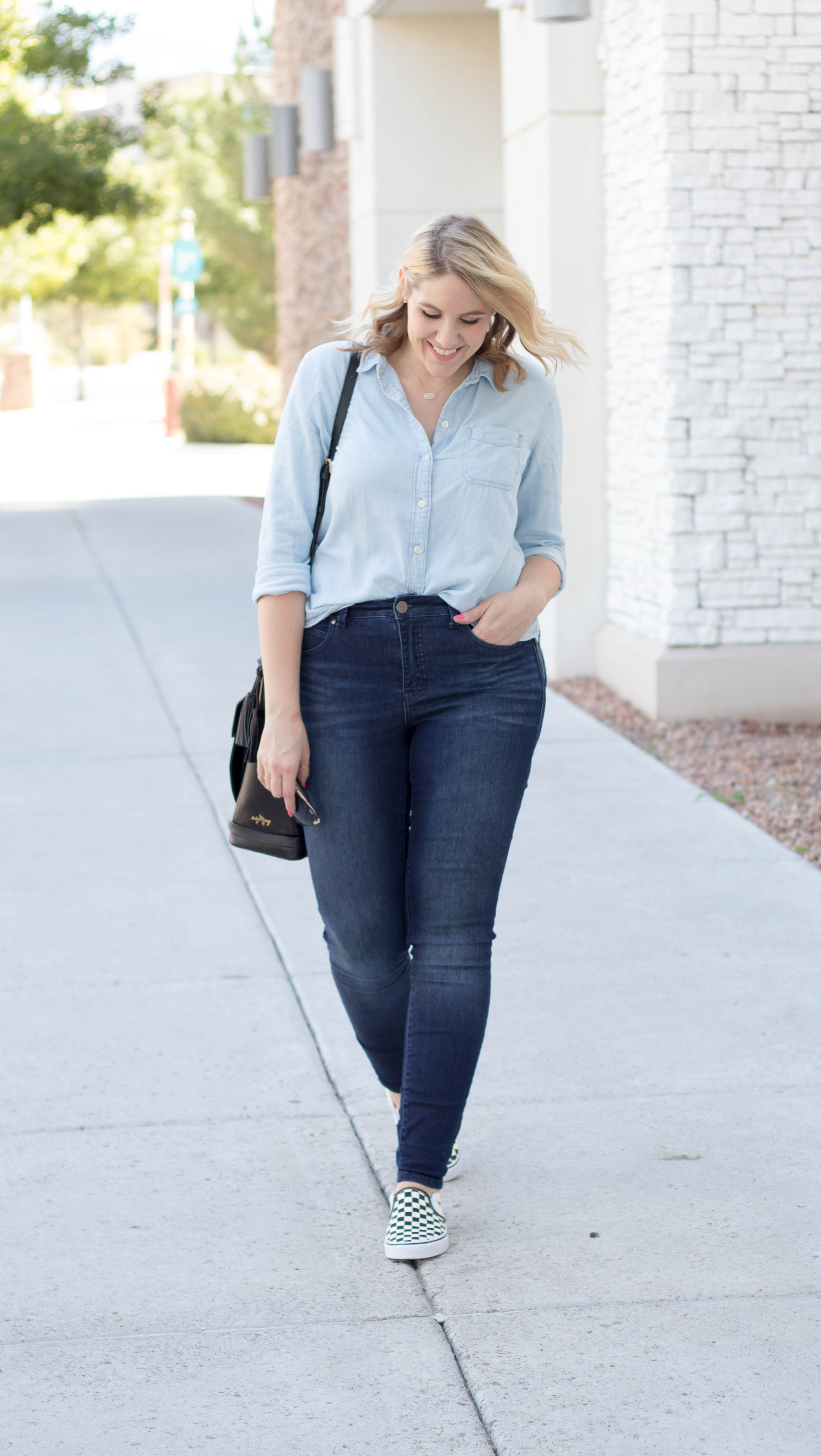 perfect outfit for any mom #momstyle #momfashion #denim