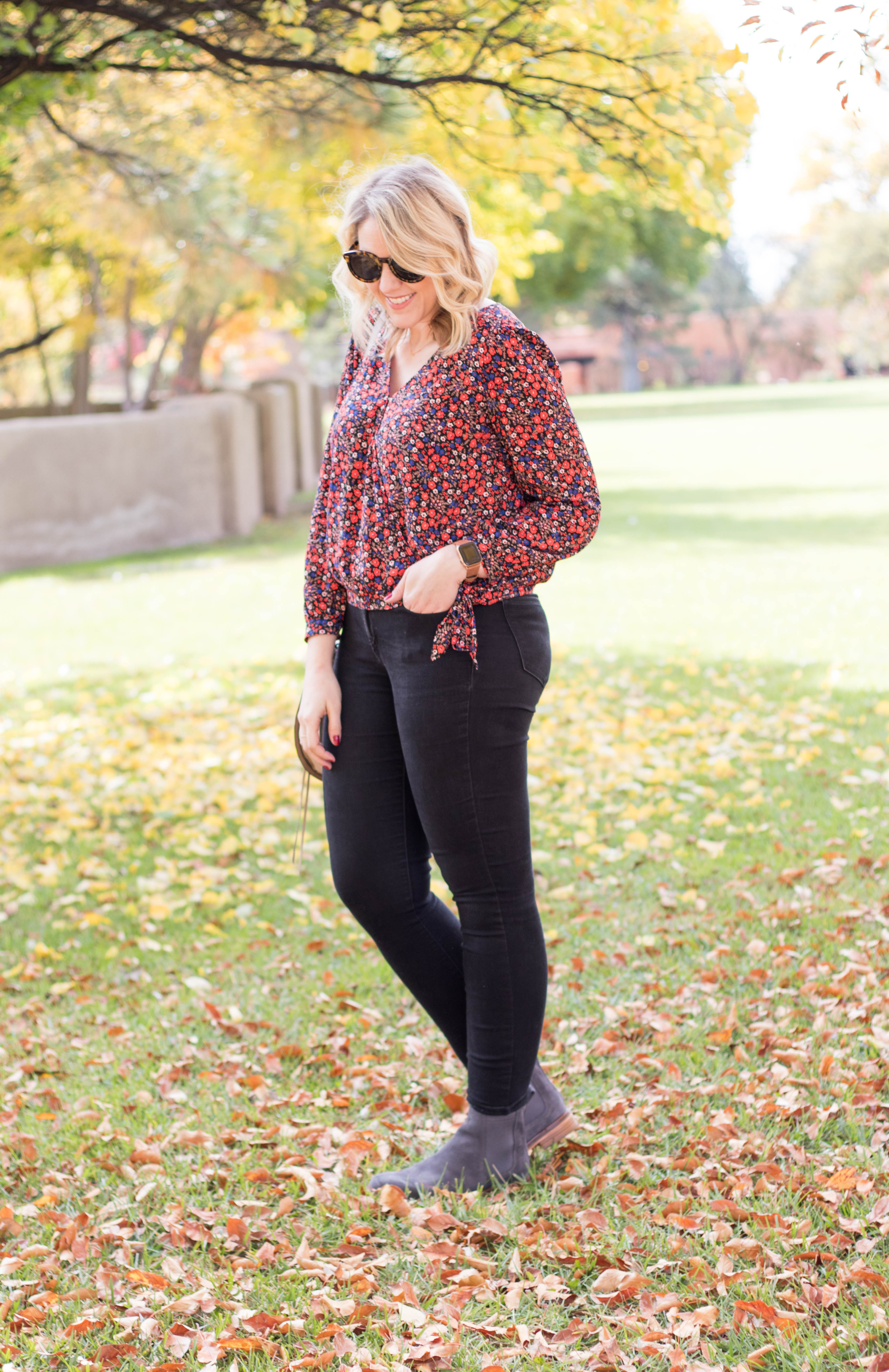thanksgiving outfit inspiration #holidayoutfit #fallstlye #ankleboots