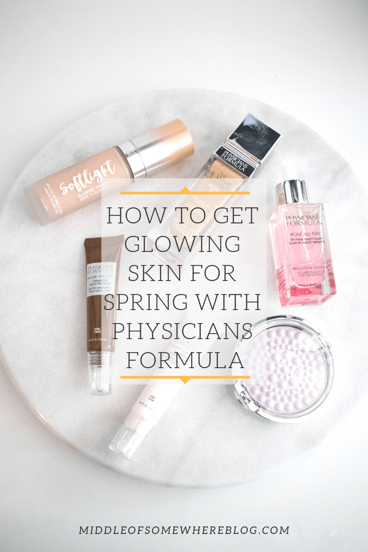 get glowing skin for spring physicians formula #physiciansformula #spring #springskincare