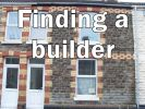 """Gwendoline St with """"finding a builder"""" written on it"""