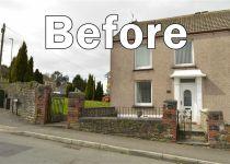Swansea Rd Property with before written across it