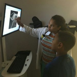 Dr. B teaching