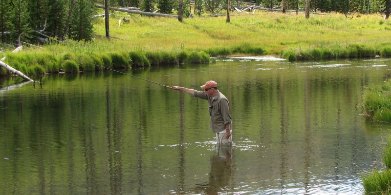 Lefty on tenkara