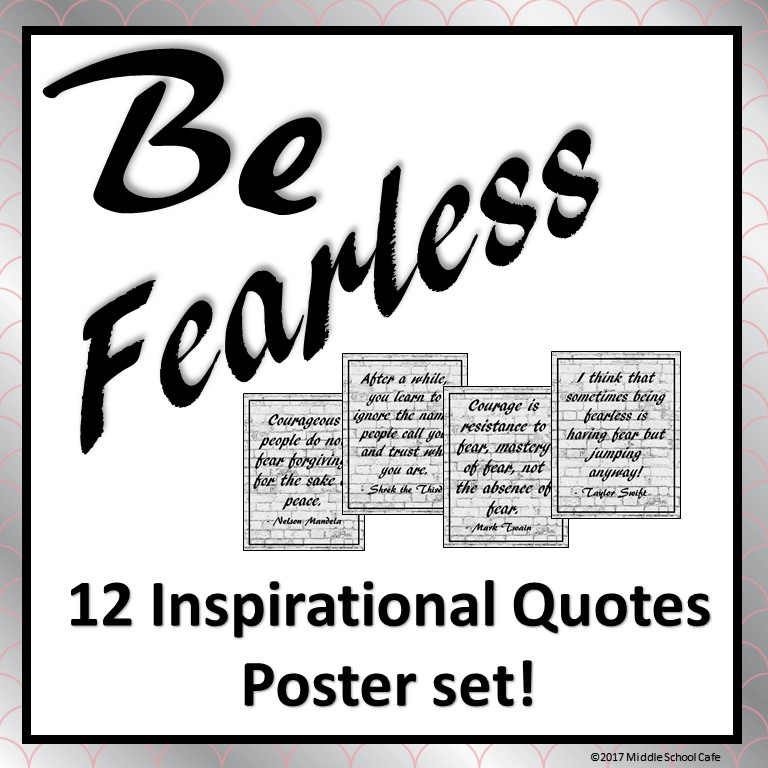 Be Fearless Bulletin Board