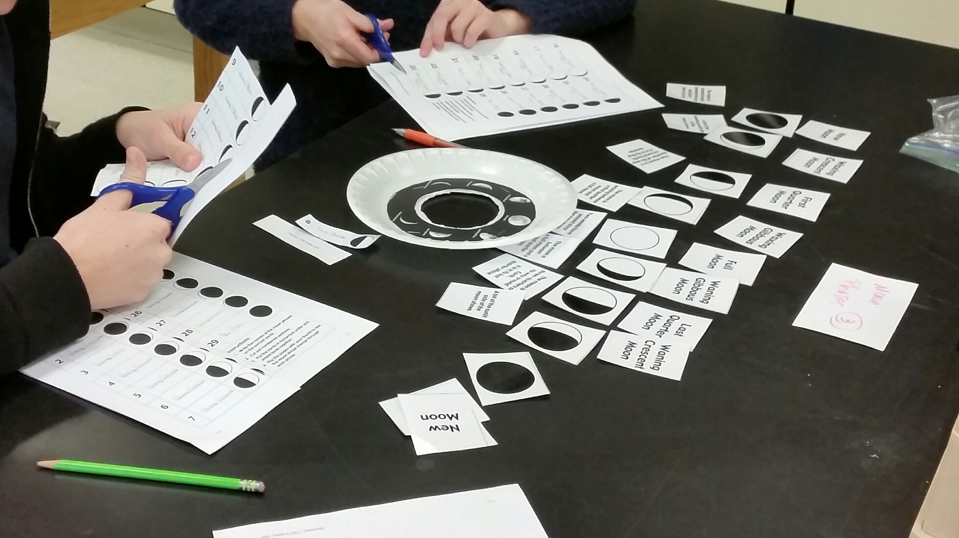 Moon Phases Flip Book Birthday And Matching Activities Middle School Science Blog