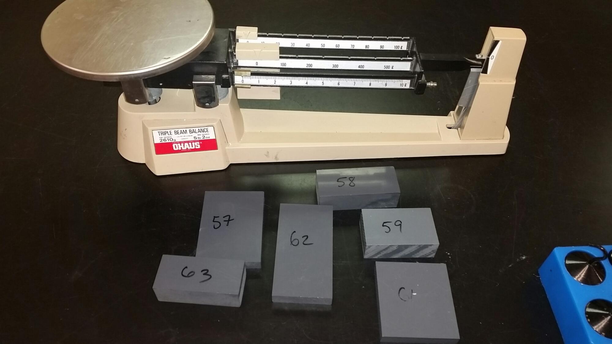 Density Identification Challenge Middle School Science