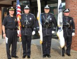Everett Police Honor Guard at the 2012 Annual Everett Police Memorial Service to honor Everett police officers who gave their life in the line of duty
