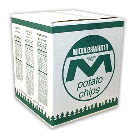 Middleswarth potato chips 3 pound bulk bag