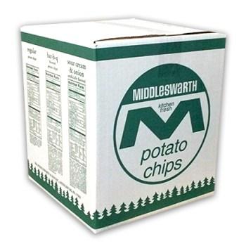 Middleswarth potato chips 3 pound bulk bag