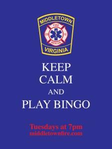 Keep Calm and Play Bingo