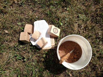 Aug 2015 - soil samples