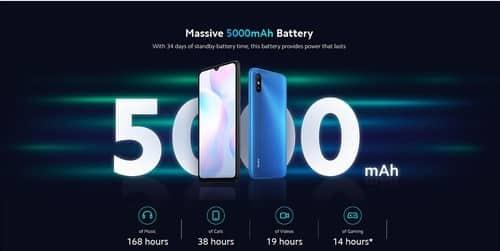 Xiaomi Redmi 9A battery