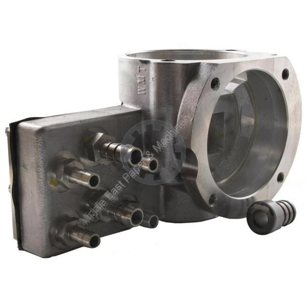 Distributor to inking unit temperature control device