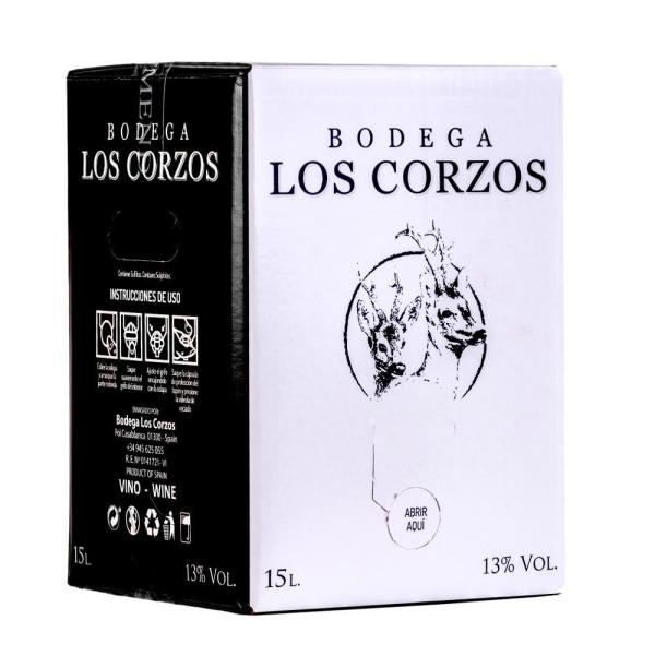 Bag in Box 15L vino tinto recomendado