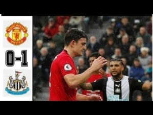 newcastle vs manchester united 1-0