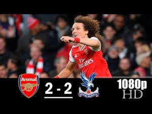 arsenal vs crystal palace 2-2