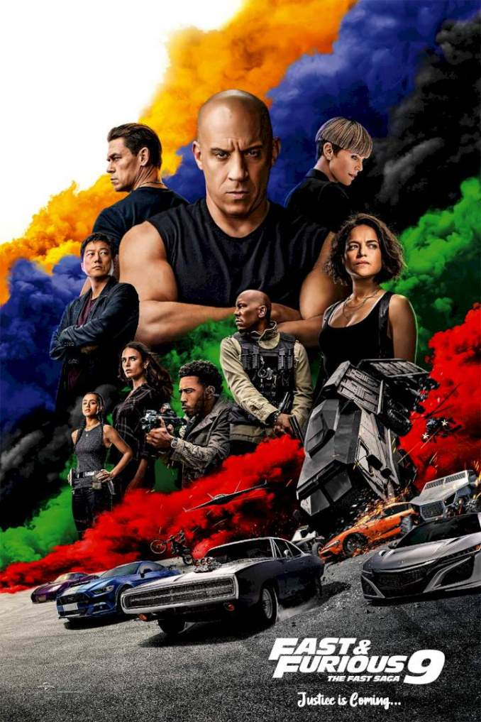 Fast and Furious 9: The Fast Saga – Hollywood Movie