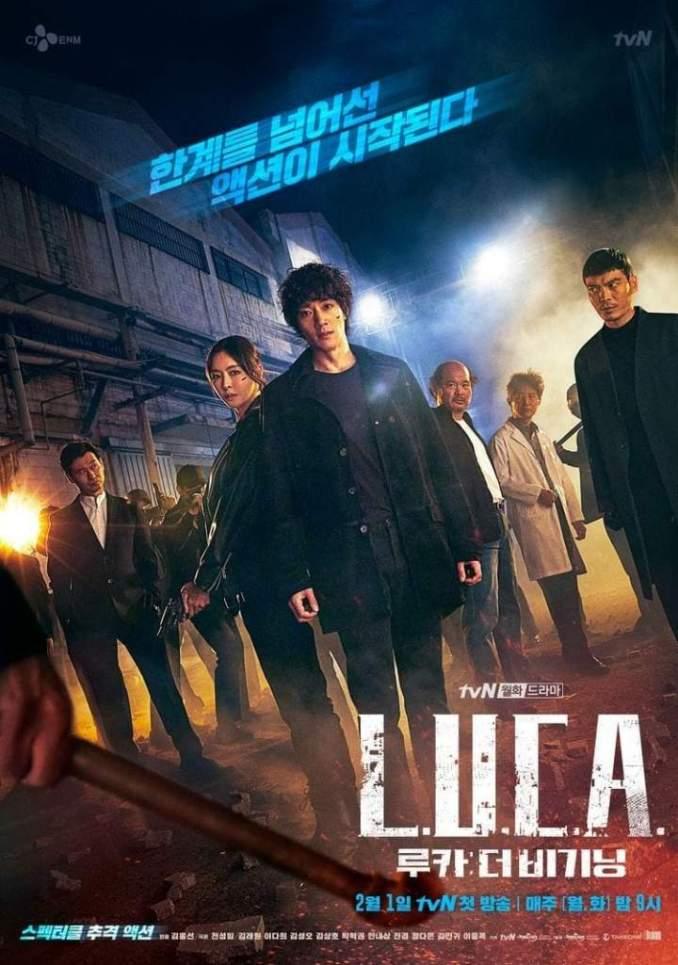 L.U.C.A.: The Beginning Season 1 Episode 2 (Korean Drama)