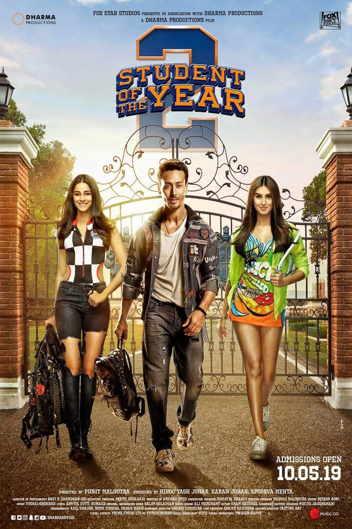 Student of the Year 2 (2019) [Indian] Movie