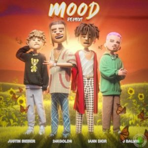 24kGoldn – Mood (Remix) ft. Justin Bieber, J Balvin, iann dior