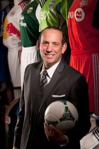 MLS Commissioner Don Garber (courtesy Major League Soccer)