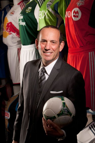 MLS Commissioner Don Garber (courtesy Major League Soccer)